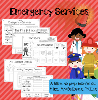 Emergency Services Little Booklet