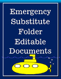 Emergency Sub Folder Editable Documents
