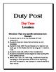 Emergency Sub Folder Editable Documents