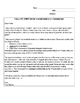 Emergency Sub Materials 2- Middle School Science