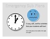 Emergency Sub Packet
