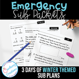 Emergency Sub Plans for Winter