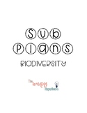 Emergency Sub Plan: Biodiversity