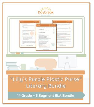 Emergency Sub Plan: First Grade: Lilly's Purple Plastic Purse