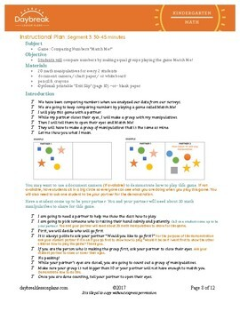 Emergency Sub Plan: K Math: Recess Queen: Creating Surveys & Making Equal Groups