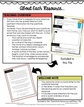 Emergency Sub Plan - No Copies Needed! Listening Comprehension & Writing Lesson