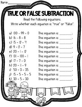 Emergency Sub Plan for Grade One: Math & ELA - Canada/Austalia/UK Version