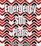 Emergency Sub Plans- 2 Days in 4th Grade