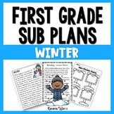 1st Grade Sub Plans Winter