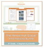 Emergency Sub Plans: 3rd Grade ELA: Informational Text: Glaciers