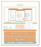Emergency Sub Plans: 3rd Grade: ELA: Winter Survivial (Life Science)