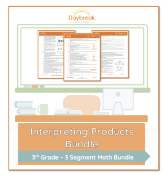 Emergency Sub Plans: 3rd Grade: Math: Groupings and Arrays