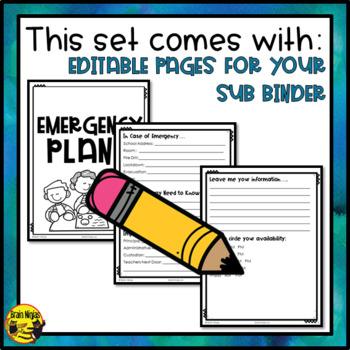 Emergency Sub Plans