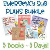 Emergency Sub Plans - 5 DAYS! Distance Learning