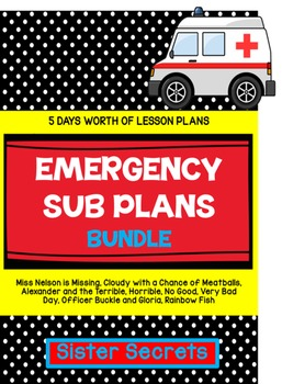 Emergency Sub Plans: 5 Days of Lesson Plans