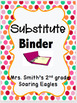 Emergency Sub Plans Bundle for 3rd Grade (3 days)