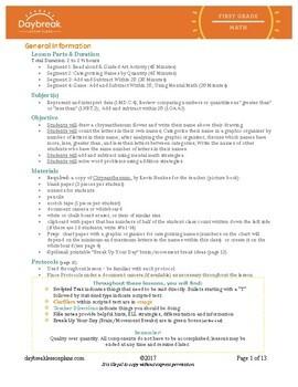 Emergency Sub Plans: First Grade: Chrysanthemum: Categorizing Adding/Subtracting