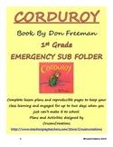 Emergency Sub Plans Corduroy - 1st Grade