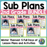 Emergency Sub Plans Day Five for 2nd-3rd-Grade Teachers Winter Edition