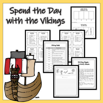 Emergency Sub Plans - Explore With the Vikings for the Day