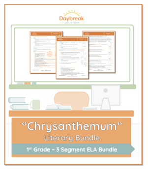 Emergency Sub Plans: First Grade: ELA: Chrysanthemum