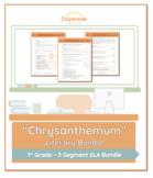 Emergency Sub Plans: First Grade: ELA: Chrysanthemum