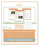 Emergency Sub Plans: First Grade: ELA Informational: Chrys