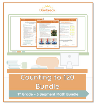 Emergency Sub Plans: First Grade: Math: Counting to 120 Using Number Grids