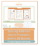 Emergency Sub Plans: First Grade: Math: Solving Addition Word Problems Within 20
