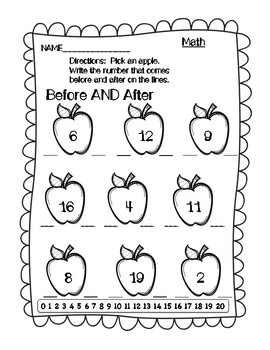 Emergency Sub Plans - Kindergarten