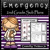 Emergency Sub Plans (Math 2nd Grade) No Prep