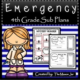 Emergency Sub Plans (Math 4th Grade) No Prep