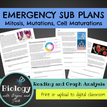Emergency Sub Plans: Mitosis, Mutations and Cell Maturations