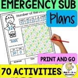 Emergency Sub Plans (NO PREP)