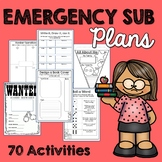 Emergency Sub Plans (NO PREP)
