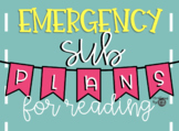 Emergency Sub Plans - Reading
