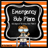 Emergency Sub Plans (Science 3rd-5th Grade) No Prep