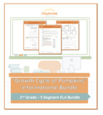 Emergency Sub Plans: Second Grade: ELA Informational: Grow