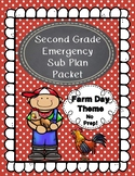 Emergency Sub Plans-Second Grade Farm Day