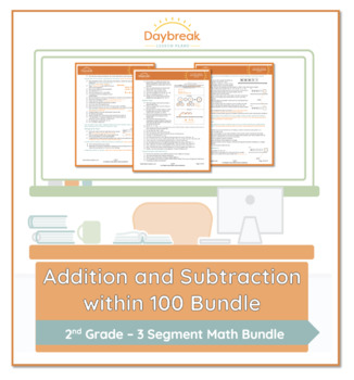 Emergency Sub Plans: Second Grade: Math: Addition and Subtraction Within 100
