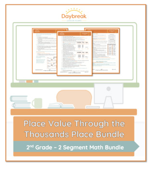 Emergency Sub Plans: Second Grade: Math: Numbers in BaseTen Place Value to 1,000