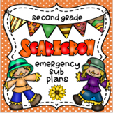 Emergency Sub Plans-Second Grade Scarecrow Packet