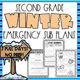 Winter Emergency Sub Plans - Second Grade