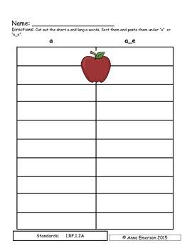 Emergency Sub Plans: September for First Grade