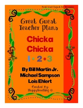 Emergency Sub Plans or Great Guest Teacher for Chicka Chicka 123