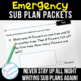 Emergency Sub Plans for Spring