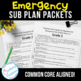 Emergency Sub Packets Days 1-3 Spring Theme