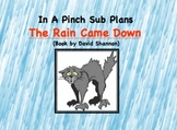 Emergency Substitute Lesson Plans- First Grade ( The Rain