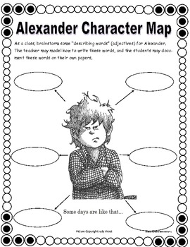 Emergency Substitute Lesson Plans, K-1/Alexander and the Terrible, Horrible...