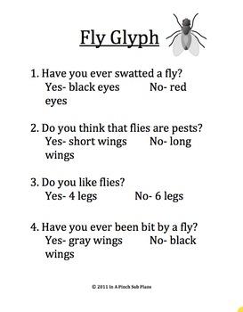 Emergency Substitute Lesson Plans- Kindergarten (Old Black Fly)